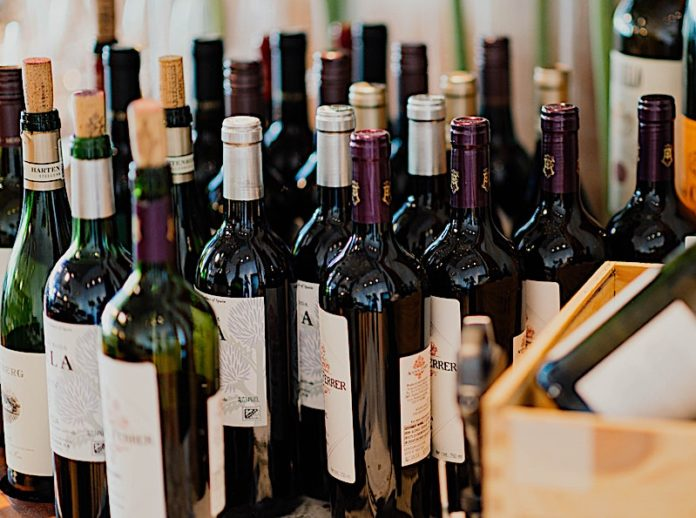 bottiglie di vino da 0,75 cl