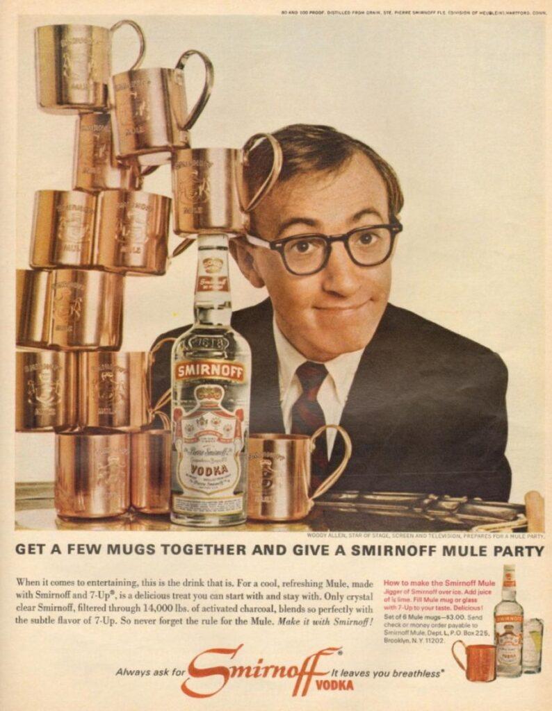 Woody Allen pubblicizza la vodka
