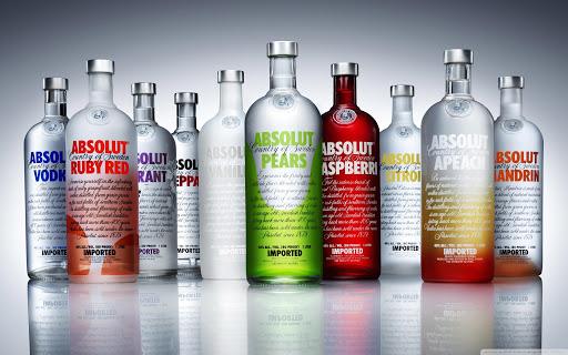 Vodka alla frutta